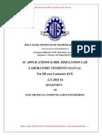 IC HDL Lab Manual