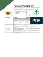 SPO Koordinasi Dan Komunikasi Lintas Sektor PWK