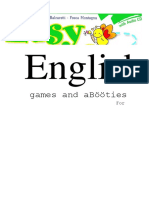 Balzaretti Lorenza Montagna Fosca Easy English With Games An