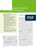 Hormonal Regulation of Calcium and Phosphate Metabolism
