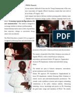 Ucu Student Wins Prau  excellence Award