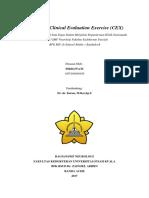 Mini – Clinical Evaluation Exercise (CEX) Stroke Iskemik