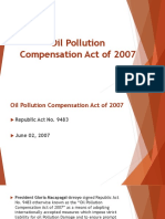 Oil Pollution Compensation Act
