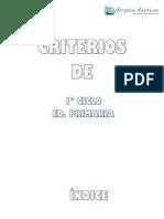 CRITERIOS DE EVALUACIÓN_1º CICLO