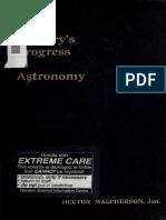 A Centurys Progress in Astronomy 1906