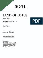 Scott Land of Lotus