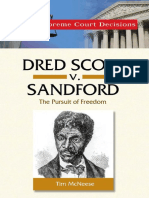 (Great Supreme Court Decisions) Tim McNeese-Dred Scott v. Sanford-Chelsea House Publications (2006)