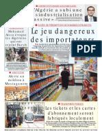 journal soir algerie
