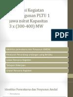 Deskripsi Kegiatan PLTU 1 Jawa Barat