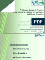 Anc3a1lisecuavaliação de Projetos de Investimento Básicostosprojetos