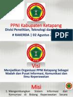 Program kerja Divisi Penelitian, Teknologi Dan Informasi PPNI Kabupaten Ketapang
