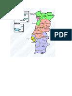 2 - Mapa de Portugal - Projetar