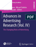 Advances in Advertising Research Vol 4 - The Changing Roles of Advertising
