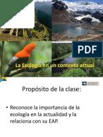 Primera Clase Ecología 2015-II