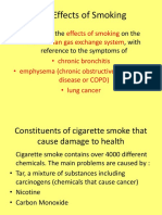 As Effects of Smoking (1)