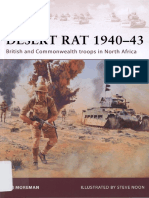 Desert Rat 1940–43 (Osprey WARRIOR 160)