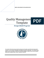 Quality Management Plan
