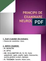 Principii de Examinare