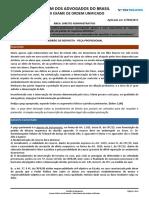 Gabarito Justificado - Direito Administrativo - 2ª Fase XXIII Exame