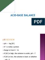 Fluid Electrolyte Balance 2