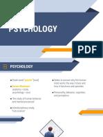 3 Psychology