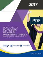 Buku Saku Kiat Sukses Belajar Di Universitas Terbuka Ok