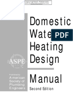 Domestic Water Heating Design Manual PDF