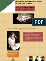 Obstetricia  - Alteraciones Respiratorias