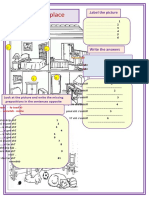 Prepositions of Place 29756