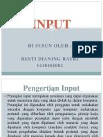 Input Resti