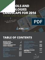 Java Tools and Technologies 2014