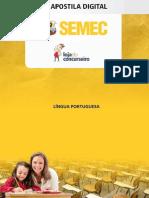 Apostila de Português semec Belém