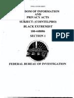 FBI Counterintelligence on Black Extremists (PT 1)