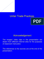 File 11 Unfair Trade Practices