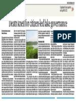 Lele and Srinivasan_Lakes to MID_op-ed_Deccan Herald_4Aug2017