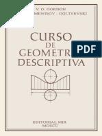 Curso de Geometría Descriptiva - V.O. Gordon, M.a. Sementsov-Oguiyevski - 2a Ed (MIR)