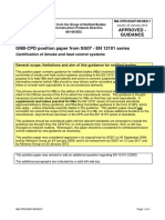 NB-CPD SG07 09 063r1 - En 12101 Series - Certification of Smoke and Heat Control Systems