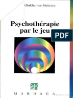 Psychothérapie Par Le Jeu