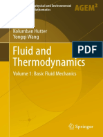 Fluid and Thermodynamics_ Volume 1_ Basic Fluid Mechanics