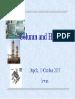 Column & HE Sizing - Presentation