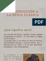 Introducción a La Épica Griega Clásica