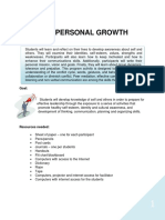 Unit 3 Personal Growth Version 2