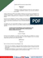Universidad de Panama - Reglamento de Servicio Social
