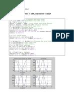 Contoh Program Matlab AST 1