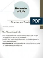 The Structure and Function of Macromolecules.ihb.Oktober 2015