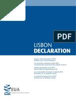 Lisbon Declaration
