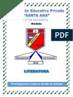 MÓDULO ° SECU- LITERATURA