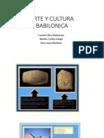 Arte y Cultura Babilonica