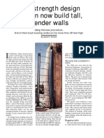 Slender Walls (James E. Amrhein)