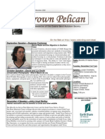 November-December 2008 Brown Pelican Newsletter Coastal Bend Audubon Society